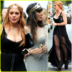 Lindsay Lohan Supports Sister Aliana at 'Saints of the Zodaic'