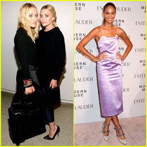 Mary-Kate & Ashley Olsen: Estee Lauder Fragrance Launch!