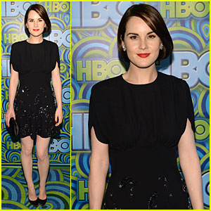 Michelle Dockery Switches It Up for HBO's Emmys After Party