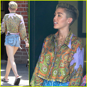 Miley Cyrus Hits the Studio After False Interview Spreads