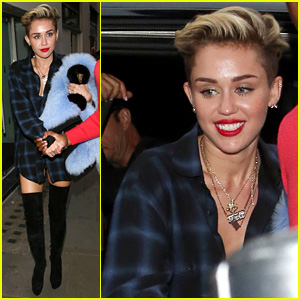 Miley Cyrus Steps Out After Breaking Vevo Video Record!