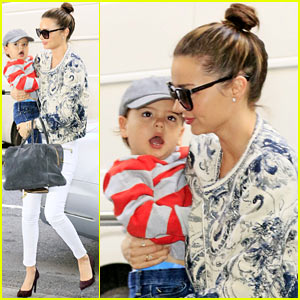 Miranda Kerr Hangs with Flynn, is Living & Loving Life!