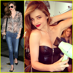 Miranda Kerr: Love My Harry Josh Hair Dryer!