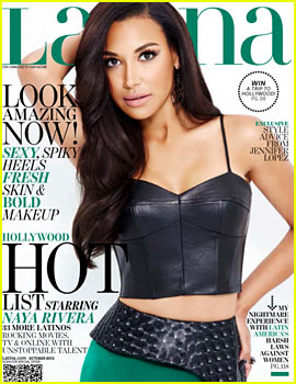 Naya Rivera Talks Mourning Cory Monteith to 'Latina'