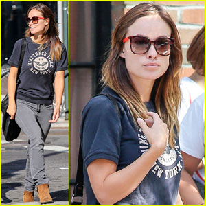 Olivia Wilde: East Village Outing!