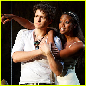 Orlando Bloom & Condola Rashad: 'Romeo & Juliet' Production Pics!