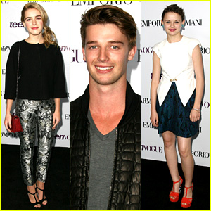 Patrick Schwarzenegger & Joey King: Teen Vogue Party 2013!