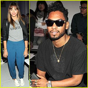Rashida Jones & Miguel: Rodarte Fashion Show!