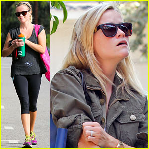 Reese Witherspoon Takes Care of Business in Brentwood
