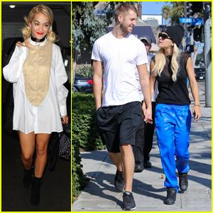 Rita Ora: Spa Time After Fun Weekend with Calvin Harris