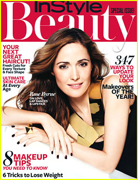 Rose Byrne Covers 'InStyle Beauty' Fall 2013