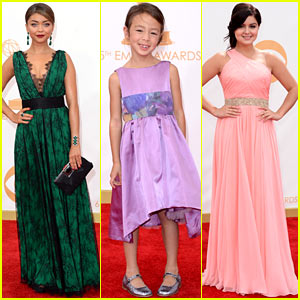 Sarah Hyland & Ariel Winter - Emmys 2013 Red Carpet