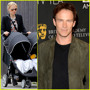 Stephen Moyer: BAFTA TV Tea Party During Emmys Weekend!