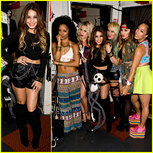 Vanessa Hudgens: Bootsy Bellows Performance with YLA! (Exclusive Pics)