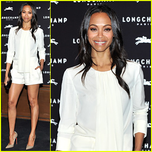 Zoe Saldana Hides Wedding Ring at First Post-Marriage Event!