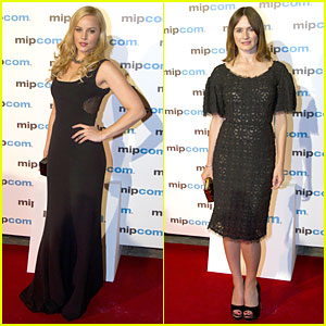 Abbie Cornish & Emily Mortimer: MIPCOM Party!