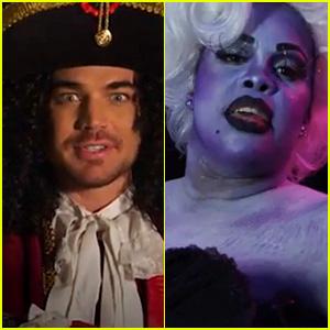 Adam Lambert & Amber Riley: Todrick Hall's 'Spell Block Tango'!