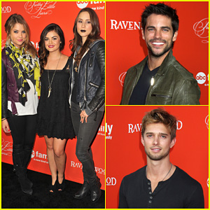 Ashley Benson & Lucy Hale: 'Pretty Little Liars' Halloween Screening!