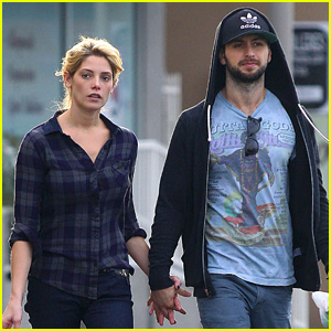 Ashley Greene & Paul Khoury Hold Hands for CVS Errand Run