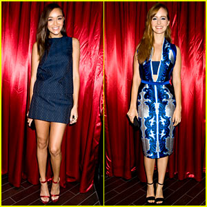 Ashley Madekwe & Ahna O'Reilly - Just Jared Halloween Party 2013