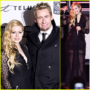 Avril Lavigne & Chad Kroeger: We Day Performing Couple!