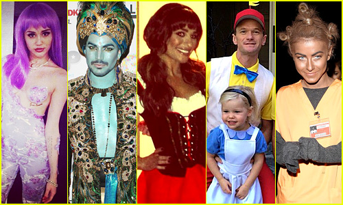 Celebrity Halloween Costumes 2013 - Photo Slideshow!