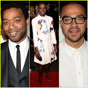 Chiwetel Ejiofor & Lupita Nyong'o: '12 Years a Slave' LA Premiere!