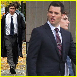 Dave Franco: 'Business Trip' Set with James Marsden!