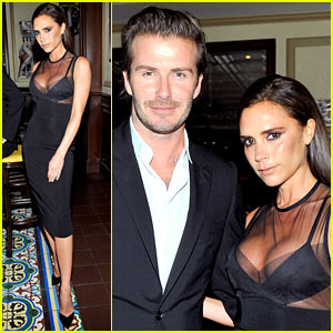 David & Victoria Beckham: CFDA & Vogue Fashion Fund Dinner!