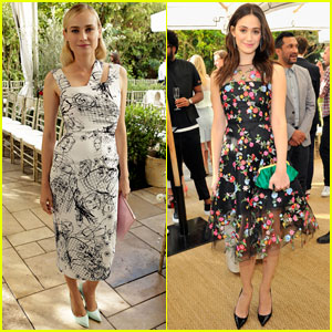 Diane Kruger & Emmy Rossum: CFDA & Vogue Fashion Fund 2013