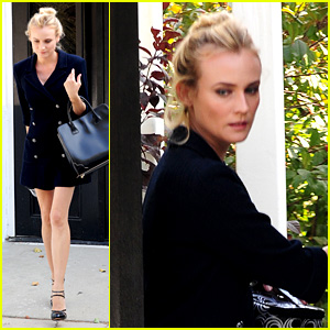 Diane Kruger Steps Out After 'The Bridge' Season Finale