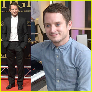 Elijah Wood: 'Grand Piano' Photo Call at Sitges Film Fest!