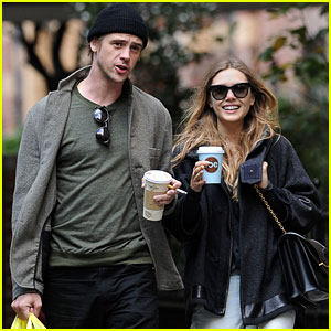 Elizabeth Olsen & Boyd Holbrook: Grocery Shopping Couple!