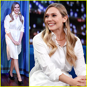 Elizabeth Olsen: 'Kill Your Darlings' on 'Fallon'!