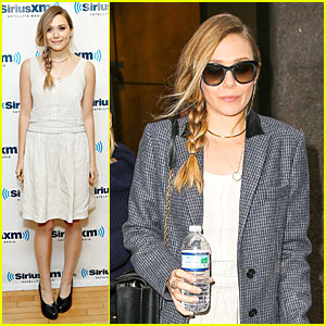 Elizabeth Olsen: 'Sway in the Morning' Radio Appearance!