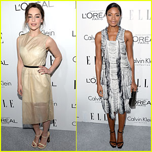 Emilia Clarke & Naomie Harris: 'Elle' Women in Hollywood Celebration!