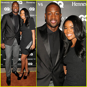 Gabrielle Union & Dwyane Wade: 'GQ Men' Book Celebration!