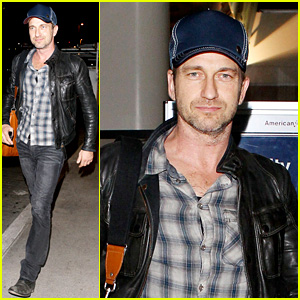 Gerard Butler is Back in Los Angeles After Trip to New York