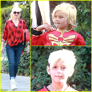 Gwen Stefani: Baby Bumpin' Halloween Party with the Boys!