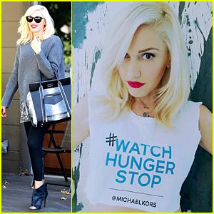 Gwen Stefani: Help Fight World Hunger!