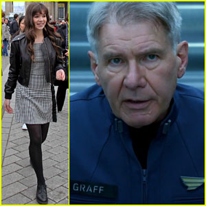 Hailee Steinfeld & Harrison Ford: First 'Ender's Game' Clip - Watch Now!
