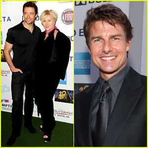 Hugh Jackman & Tom Cruise: 'One Night Only' L.A.Benefit