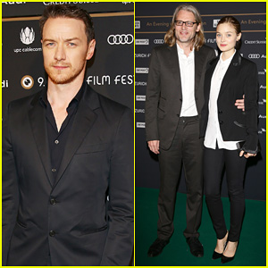 James McAvoy & Bella Heathcote: Zurich Film Festival 2013!