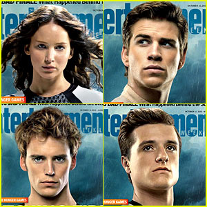 Jennifer Lawrence & Liam Hemsworth: EW's 'Hunger Games' Covers!