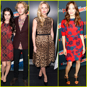 Jennifer Morrison & Adelaide Kane: New York Comic Con Day 3