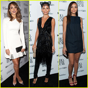 Jessica Alba & Nicole Richie: Cadillac's 50 Most Fashionable Women of 2013