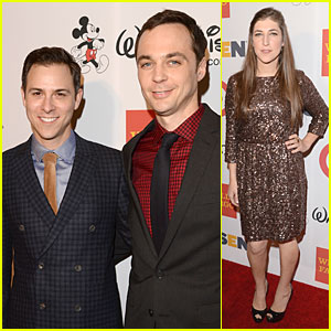 Jim Parsons & Todd Spiewak: First Couple Appearance!