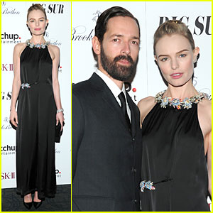 Kate Bosworth & Michael Polish: 'Big Sur' NYC Premiere!