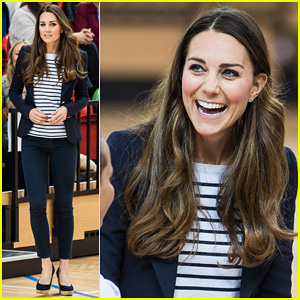 Kate Middleton: Sportaid Athlete Workshop Visit!