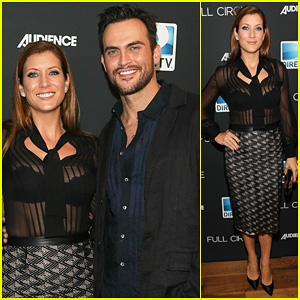 Kate Walsh & Cheyenne Jackson: 'Full Circle' Cast Dinner!